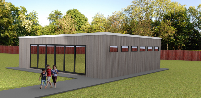 Modular Classroom Security : Design your own rg stones buildings ltd